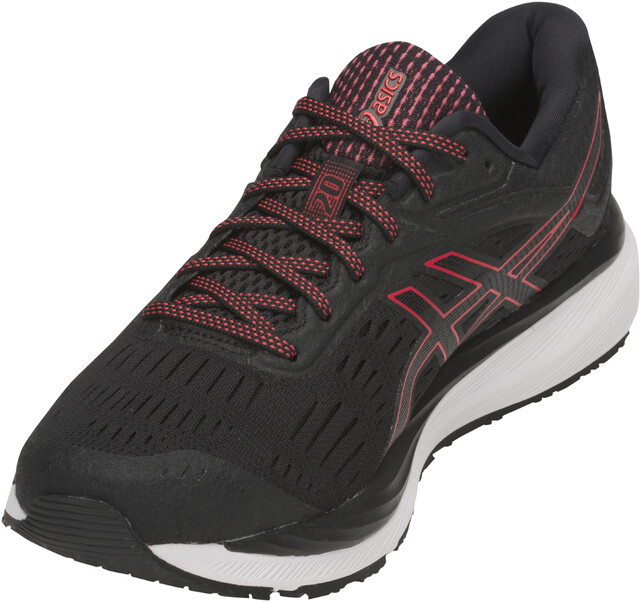 on sale 9dbd0 c9153 ... asics black and red running shoes